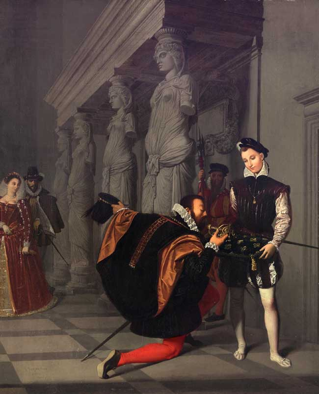 Don Pedro of Toledo Kissing the Sword of Henri IV