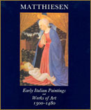 1983-Early Italian Paintings and Works of Art, 1300 - 1480.