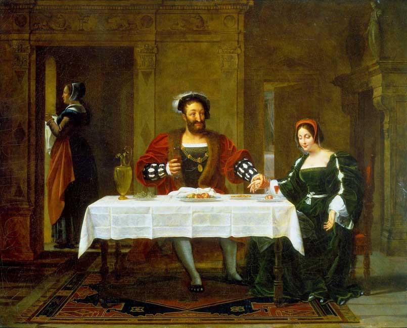 François I and La Belle Ferroniere