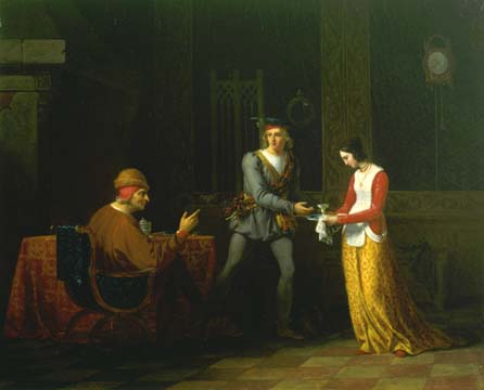 Scene from Walter Scott's Quentin Durward