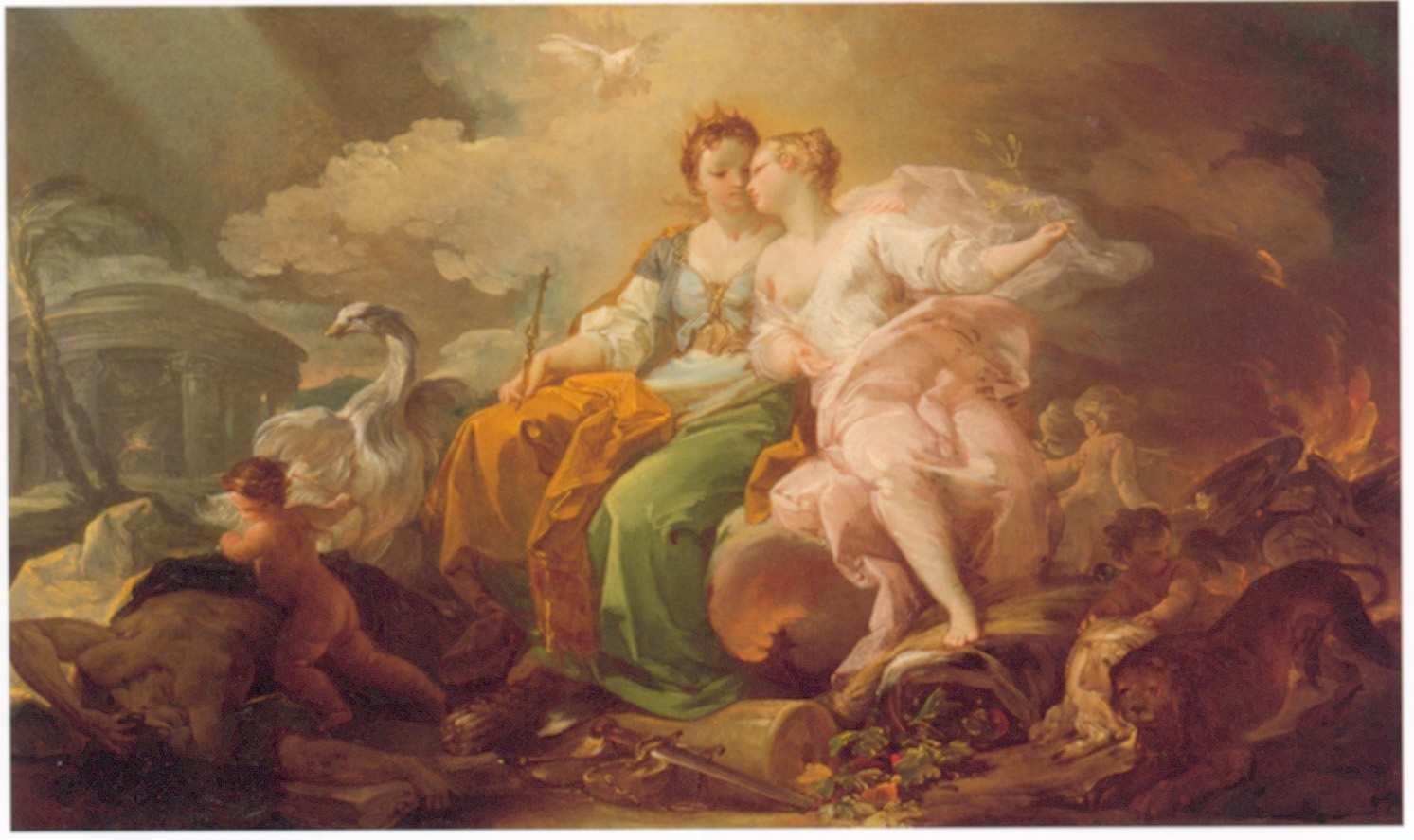 An Allegory of Justice and Peace