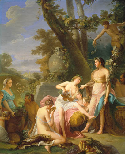 Bacchus in the Midst of his Court