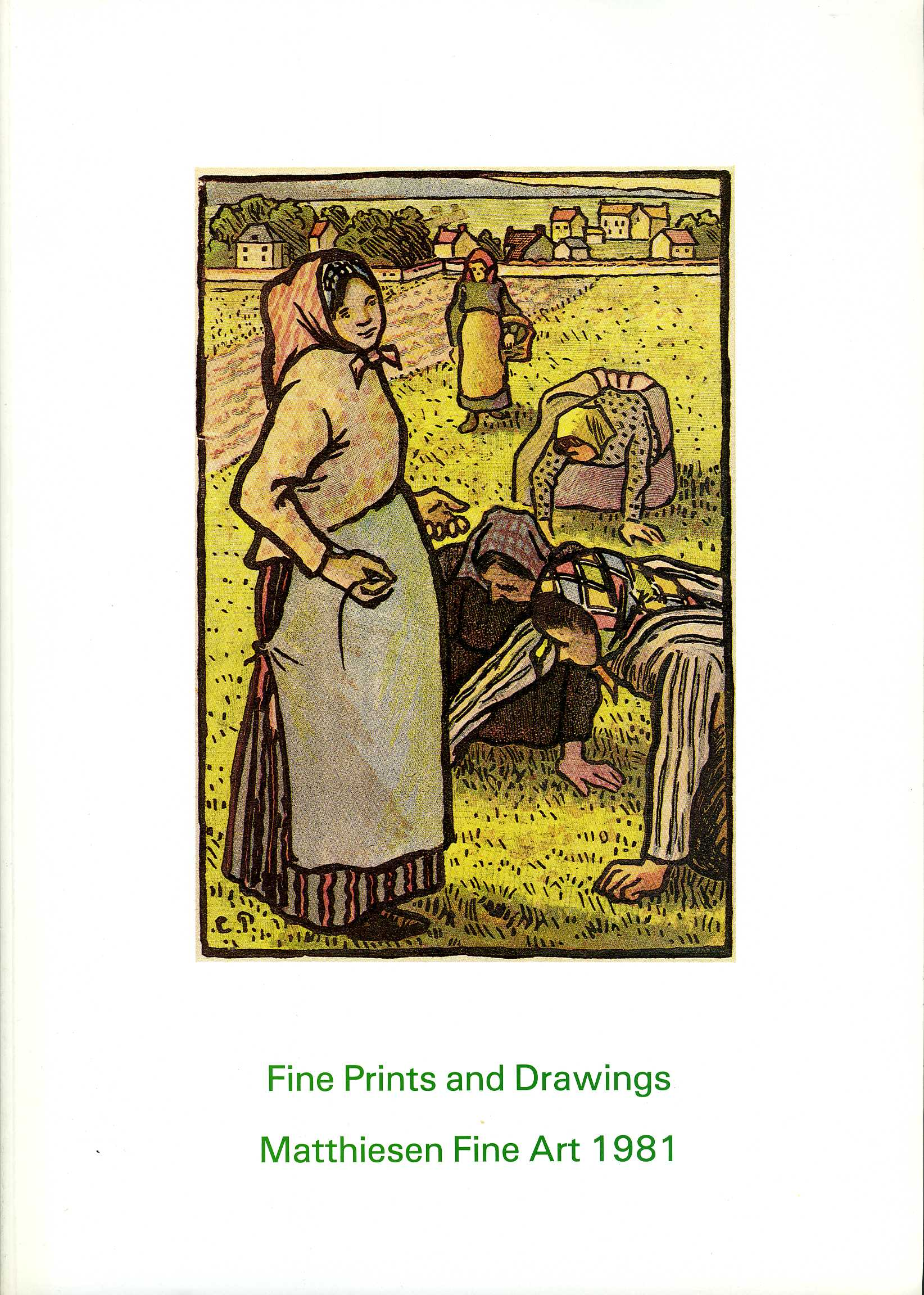 1981-Fine Prints and Drawings: England, America and Europe.