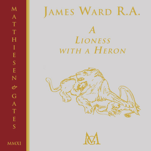 2011-James Ward: A Lioness with a Heron.