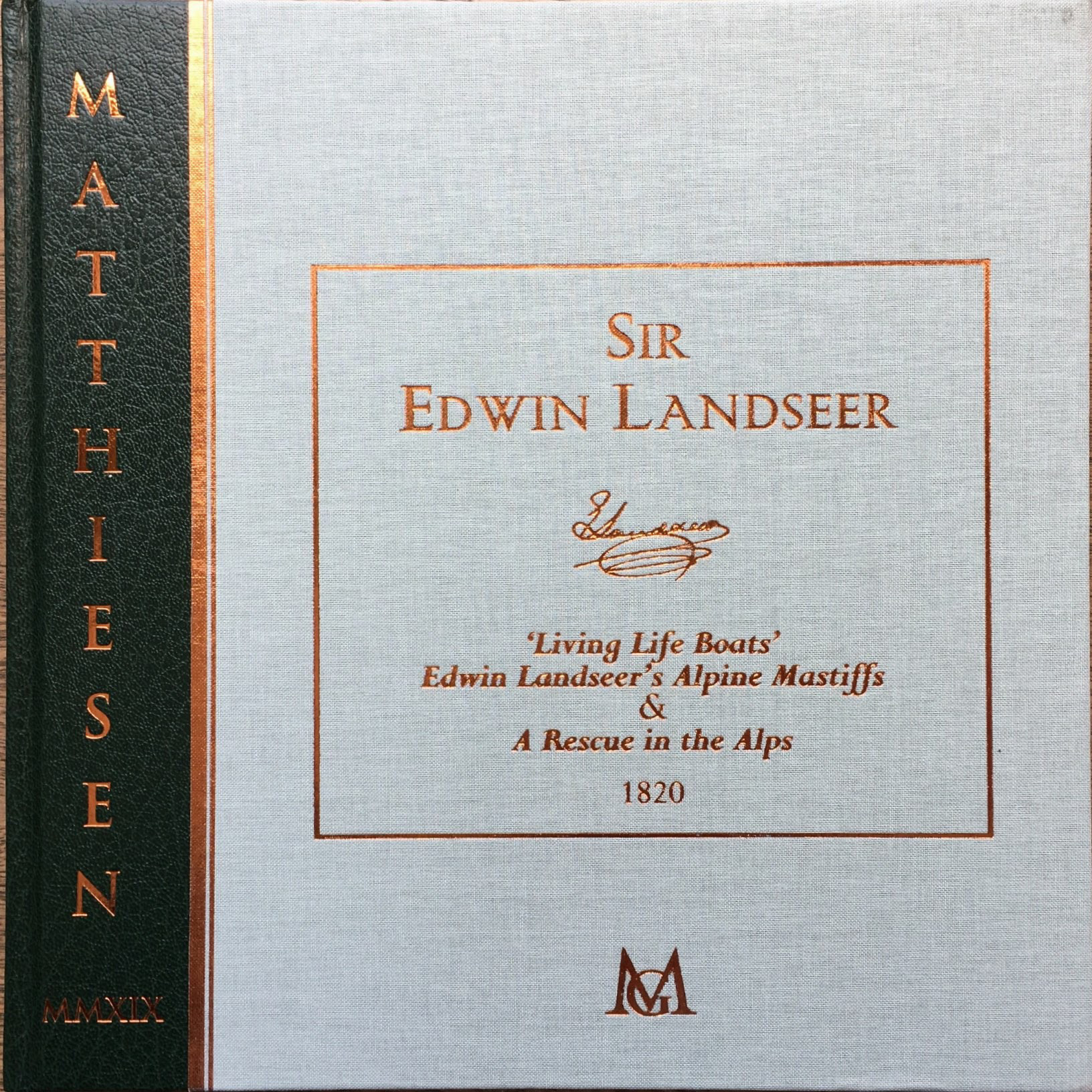 Sir Edwin Landseer, Alpine Mastiffs Reanimating a Distressed Traveller